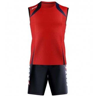 KIT FLY TRAINING ROSSO BLU ZEUS SPORT