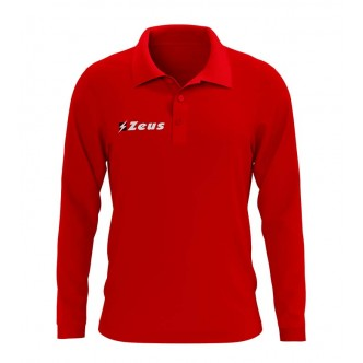 POLO BASIC M/L RELAX ROSSO ZEUS SPORT