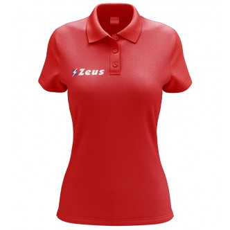 POLO PROMO WOMAN RELAX ROSSO ZEUS SPORT
