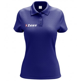 POLO PROMO WOMAN RELAX ROYAL ZEUS SPORT