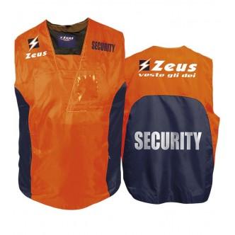 CASACCA SECURITY ARANCIO BLU ZEUS SPORT