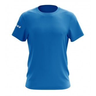 T-SHIRT BASIC SS RELAX LIGHT ROYAL ZEUS SPORT