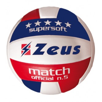 PALLONE VOLLEY MATCH OLD BLU ROSSO ZEUS SPORT