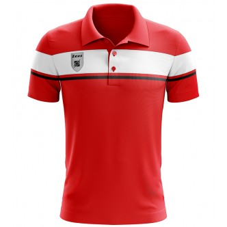 POLO RELAX ACHILLE ROSSO BIANCO ZEUS SPORT