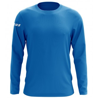 T-SHIRT BASIC LS LIGHT ROYAL ZEUS SPORT