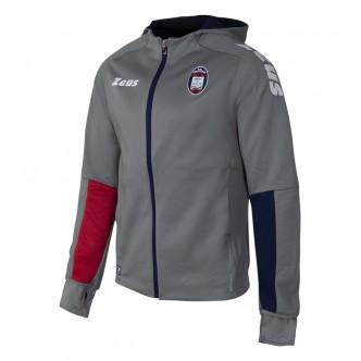 FELPA PRE-MATCH FC CROTONE CALCIO  COLORE. SILVER