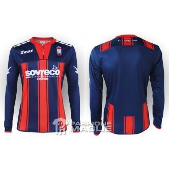 MAGLIA UFFICIALE F.C. CROTONE HOME ROSSO/BLU (2012/2013)