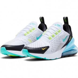 copy of Nike Air Max 270 React SE. BLACK/WHITE-GREEN STRIKE-FLASH CRIMSON CK6457-001