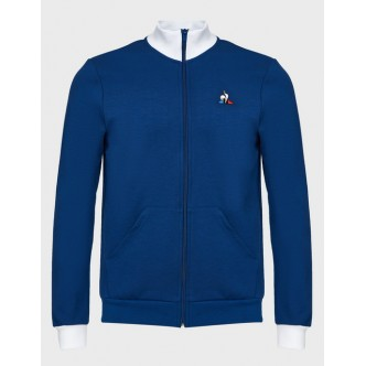 copy of LE COQ SPORTIF - FELPA CON ZIP TRICOLORE - 2021268