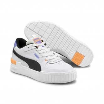 copy of PUMA - Cali Wedge - Bianco/Nero - Donna - 373438-05