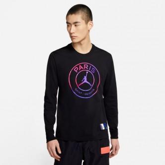NIKE -  T-shirt Paris Saint-Germain - Nero - CZ0792-010
