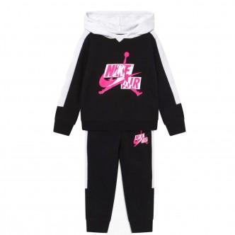 Nike - Jordan Tuta da Bimbi Jumpman Classics III Nera - 658511-K25