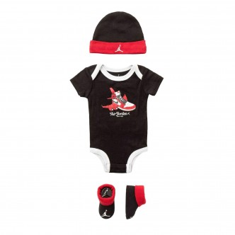 Nike - Jordan - Set body con cappellino e calze - NJ0360-023