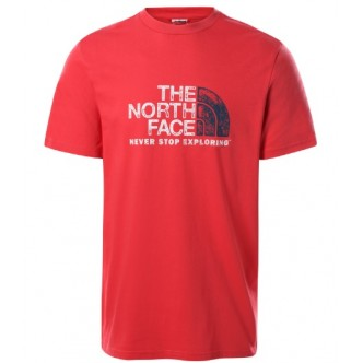copy of The North Face - T-SHIRT RUST 2 - UOMO - NF0A4M68KY41