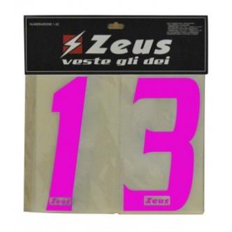 NUMERAZIONE PICCOLA 1-22 DAL NUMERO 1 AL NUMERO 22 CM 10