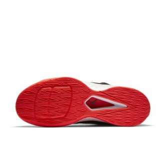 Scarpe NIKE Jordan Rising High 2 844065-006 - Colore grigio/nero/rosso - Sneakers basketball