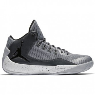 NIKE JORDAN RISING HIGH 2 BASKETBAL 844065-007 scarpe WOLF GREY/BLACK-DARK GREY-WHITE