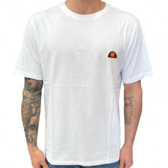 ELLESSE - T-SHIRT BASIC LOGO MINIMAL WHITE