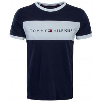 Tommy Hilfiger - Flag Logo Crew Neck T-Shirt