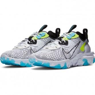 copy of Nike React Vision Men's Shoe colore grigio giallo fluo