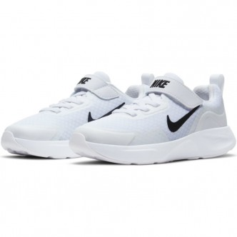 Nike WearAllDay - WHITE/BLACK - CJ3817-101