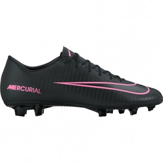 Men's Nike Mercurial Victory VI (FG) Firm-Ground Football Boot 831964-006 BLACK/BLACK