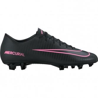 Men's Nike Mercurial Victory VI (FG) Firm-Ground Football Boot 831964-006 BLACK/BLACK