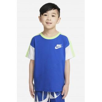 NIKE - T-shirt Bambino Blu - 86H801-U89