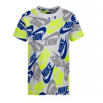 copy of NIKE - T-shirt Bambino Blu - 86H801-U89