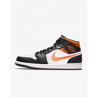 copy of Nike Air Jordan 1 Mid Shoe Full White 554724-129