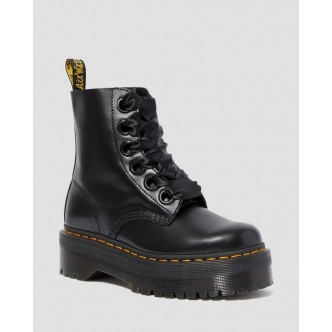copy of Dr Martens Sinclair. Stivale Donna. BLACK MILLED NAPPA / 22564001