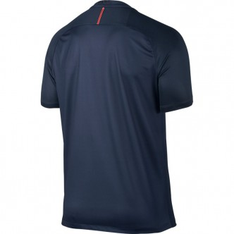 776929-410 MIDNIGHT NAVY/BLACK/CHALLENGE RED/WHITE Men's Paris Saint-Germain Stadium Top