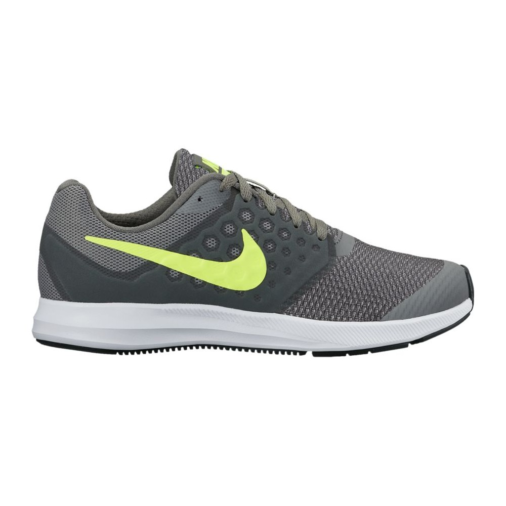 Nike Downshifter 7 (GS) GrigioGiallo Fluo 869969 002
