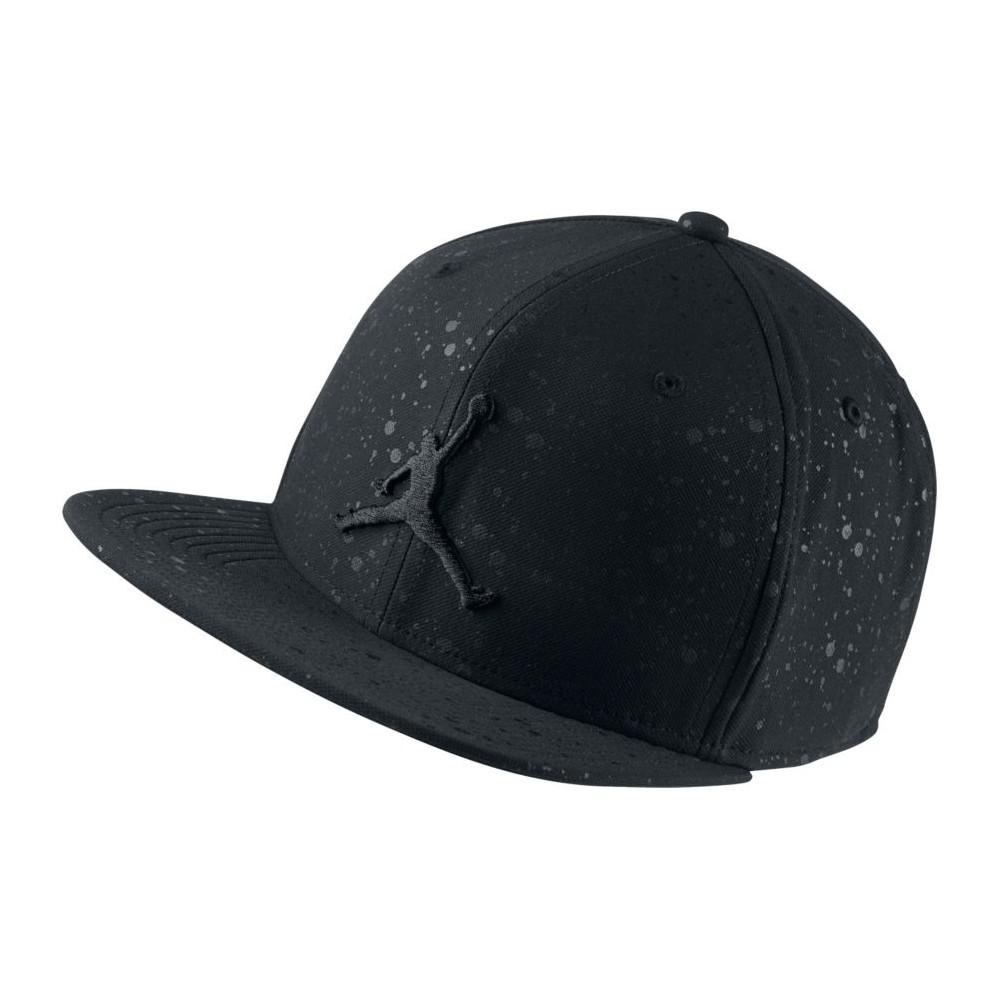 Jordan 5 Snapback BLACK/BLACK Abbigliamento 821830-011