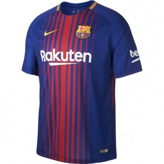 847255 Men's Nike Breathe FC Barcelona Stadium Jersey. DEEP ROYAL BLUE/UNIVERSITY GOLD