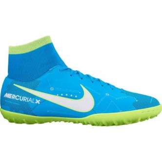 Men's Nike MercurialX Victory VI Dynamic Fit Neymar (TF) Artificial-Turf Football Boot BLUE ORBIT/WHITE-BLUE ORBIT-ARMORY NAVY S