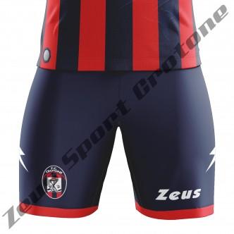 PANTALONCINO FC CROTONE 2017/18 ROSSO/BLU
