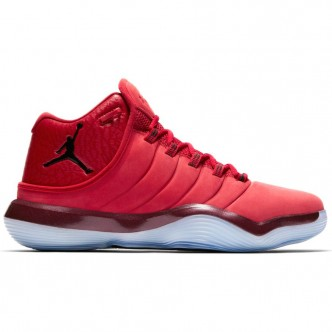 Scarpe NIKE Jordan Super.Fly 2017 921203-601 - Colore rosso/bianco/nero - Sneakers basketball