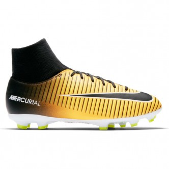 Men's Nike Mercurial Victory VI Dynamic Fit (FG) Firm-Ground Football Boot LASER ORANGE/BLACK-WHITE-VOLT Scarpe 903609-801