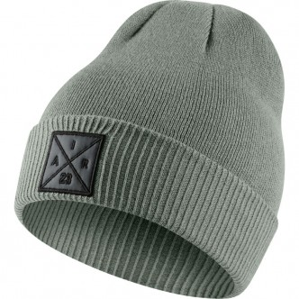Jordan P51 Knit Hat (With Embroidery) DARK STUCCO Abbigliamento 861451-004