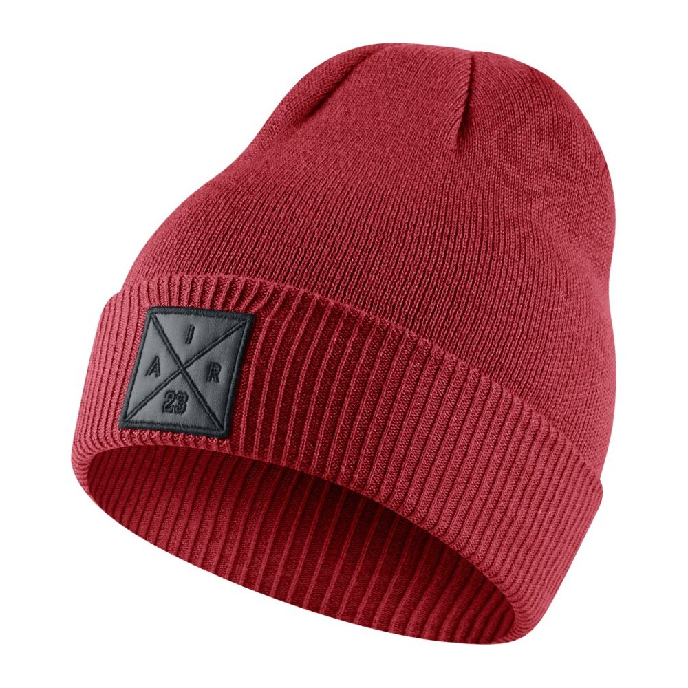 Jordan P51 Knit Hat (With Embroidery) GYM RED Abbigliamento 861451-687