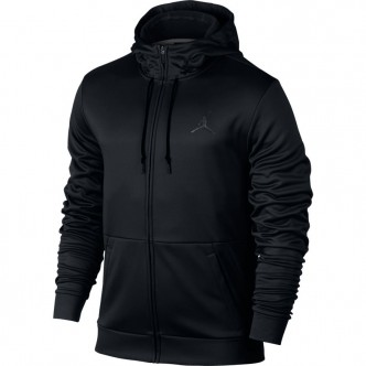 Men's Jordan Therma 23 Alpha Training Full-Zip Hoodie BLACK/ANTHRACITE Abbigliamento 872875-010