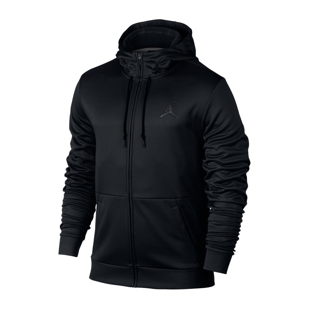 Men's Jordan Therma 23 Alpha Training Full-Zip Hoodie BLACK/ANTHRACITE Abbigliamento 872875-010