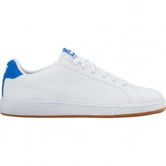 Scarpe NIKE Court Royale Premium 805556-101 - Colore bianco/blue - Sneakers