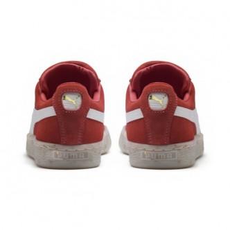 Scarpe PUMA Suede Classic B-BOY Fabulous donna 365559-02 - Colore rosso/bianco - Sneakers