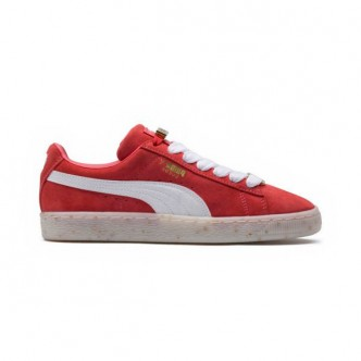 Scarpe PUMA Suede Classic B-BOY Fabulous donna 365559-02 - Colore rosso/bianco - Sneakers