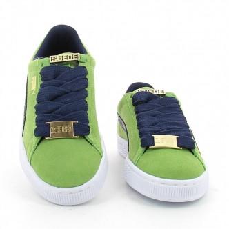 Scarpe PUMA Suede Classic B-BOY Fabulous donna 365362-03 - Colore verde - Sneakers