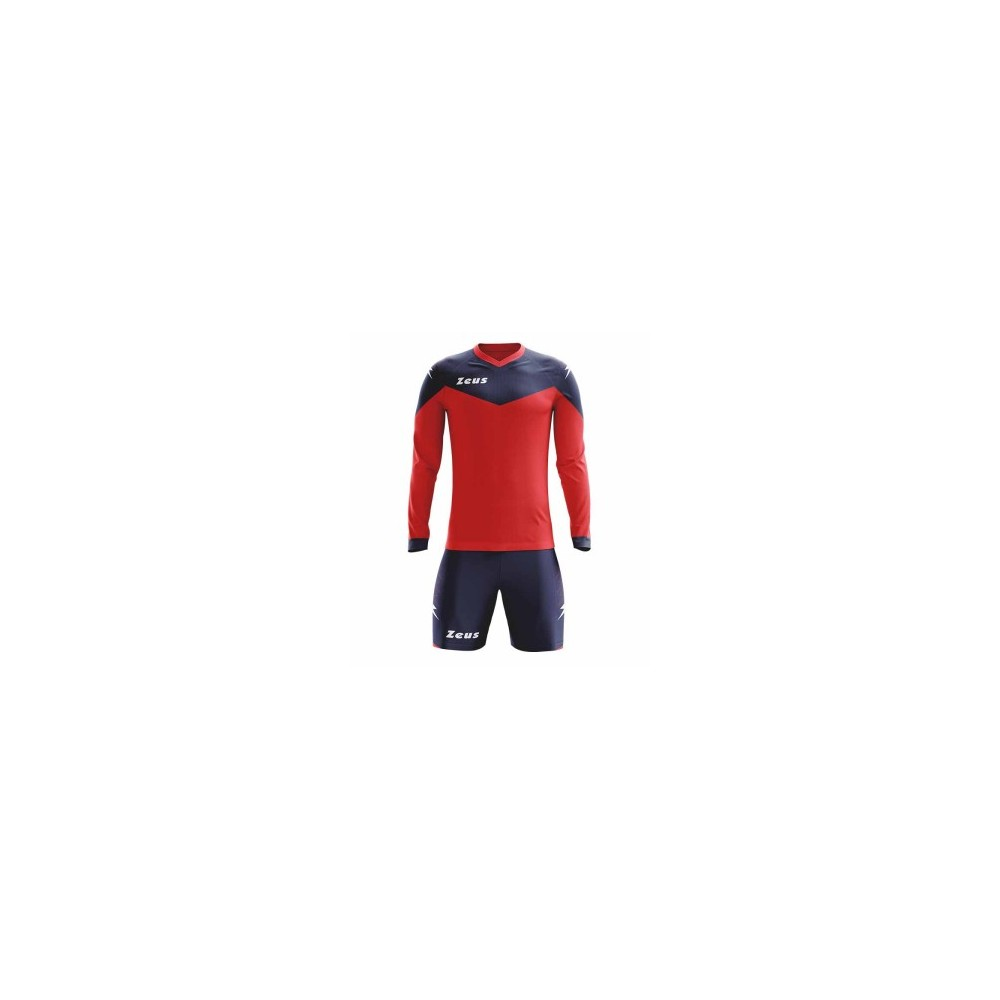 Kit Ulisse Manica lunga - Colore Rosso/blue