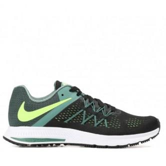 Scarpe NIKE Zoom Winflo 3 831561-010 - Colore nero/grigio/giallo - Sneakers running